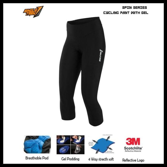 Foto Produk New Items Celana Sepeda Str Sonic 3D Cooltech Pad Bahan Lycra Spesial dari Elyawati Retail