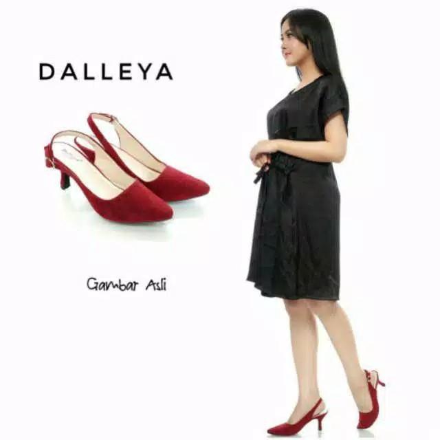 Foto Produk heels mayday wanita cantik 0372 - MAROON, 38 dari rumput shoes