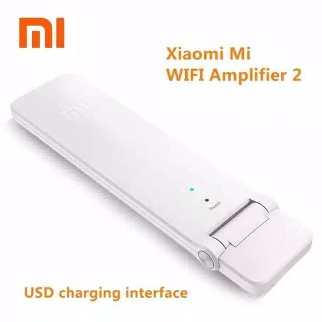 Foto Produk XIAOMI MI WIFI AMPLIFIER 2 REPEATER EXTENDER USB WIRELESS 300 MBPS dari HJ Grosir Olshop