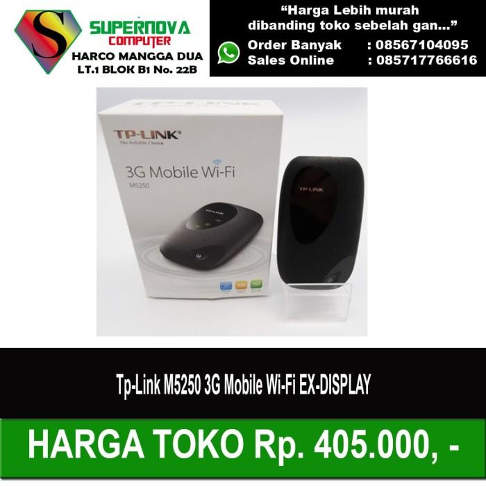Jual Tp Link M5250 3g Mobile Wi Fi Ex Display Jakarta Pusat Supernova Computer Ariet Tokopedia