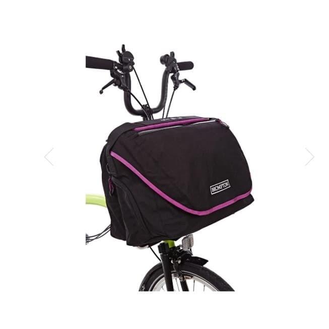 Jual Tas Sepeda BROMPTON C BAG BLACK/BERRY CRUSH Kab