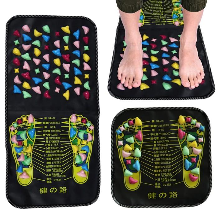 Jual Reflexology Massage Mat Foot Stone Leg Pain To Relieve Walk Massager Jakarta Selatan Diokshin Shop Tokopedia