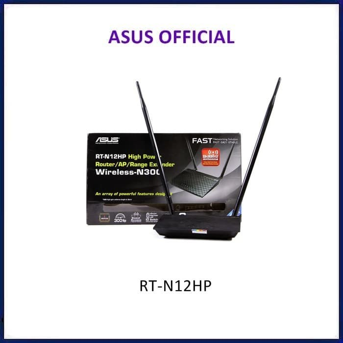 harga Asus rt-n12hp high power wireless n 300 mbps 3 in 1 router Tokopedia.com