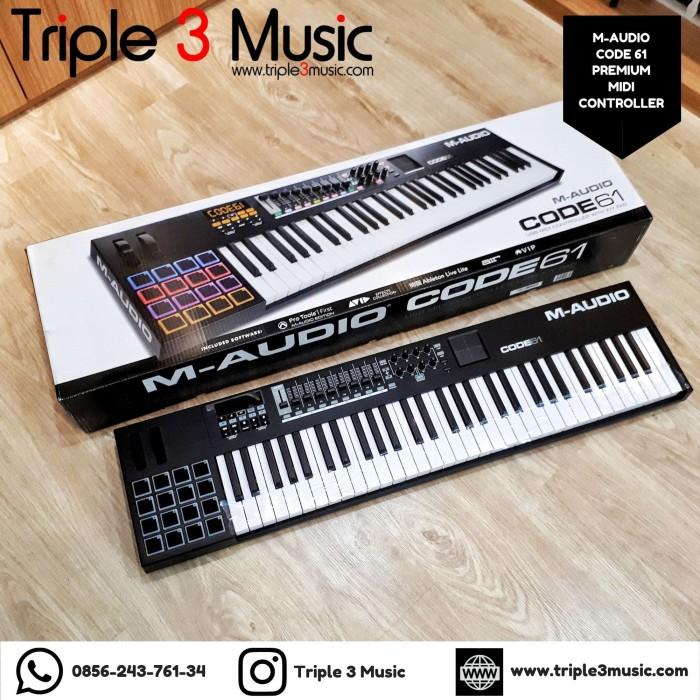 Foto Produk M-Audio Code 61 WITH PACKING KAYU dari triple3music