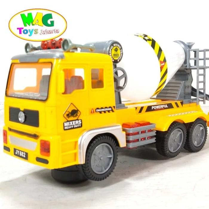 Foto Produk Mainan Mobil Truck Molen Mixers dari MAG TOYS