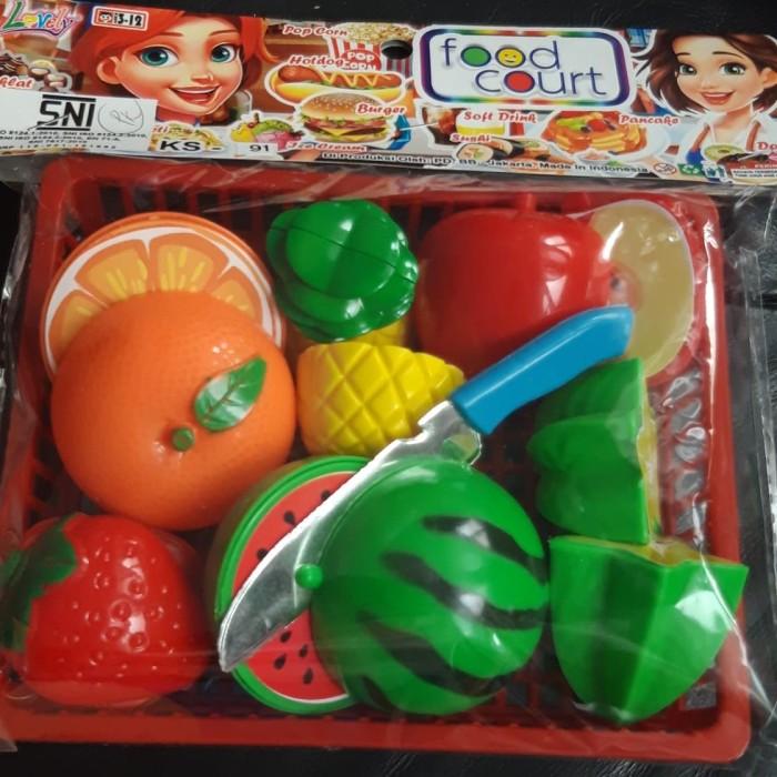 Foto Produk Mainan buah potong mahnet dari Tino Lay