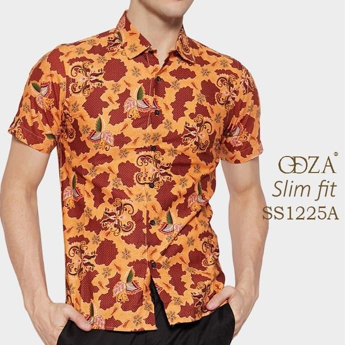 Baju batik / kemeja modern pria / baju pendek / atasan batik ob471