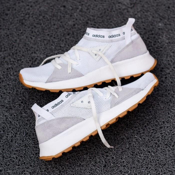 Foto Produk Sepatu Adidas Cloudfoam Quesa Slip On ORIGINAL BNWB TERMURAH - Putih, 37 dari jakartashoes86