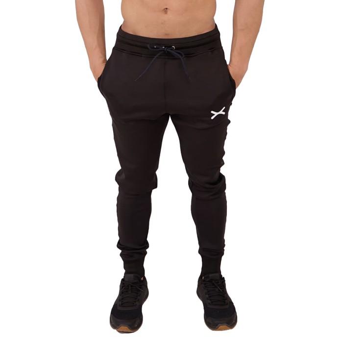 Foto Produk FLEXZONE Celana Jogger - Black - for Gym Running Jogging FCS-008HT - S dari FLEXZONE