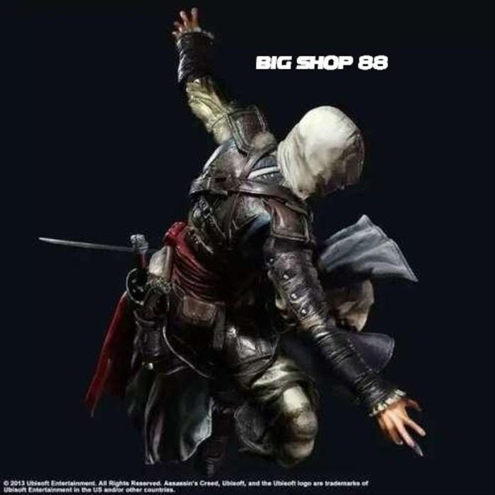 Jual Assassins Creed 4 Black Flag Edward Kenway Play Arts Kai