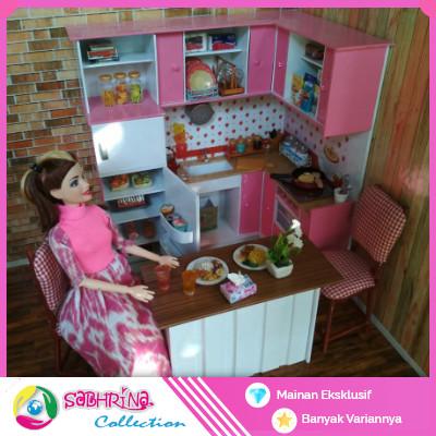 Jual Barbie Simple Kitchen Set Kota Blitar Sabhrina Collection Tokopedia