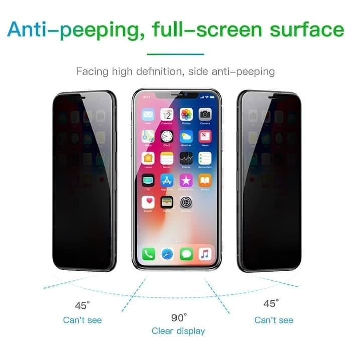 Foto Produk IPHONE X / XS/ XR / XS MAX TEMPERED GLASS ANTI SPY PRIVACY FULL COVER - IPHONE X XS dari Urban Story