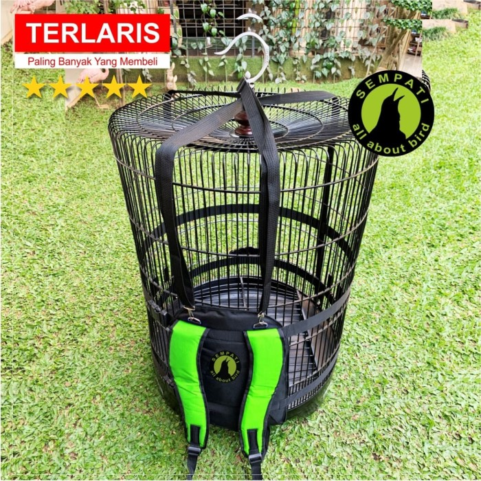 harga Tas ransel gendong 4 tali naik motor untuk bawa sangkar burung kotak Tokopedia.com