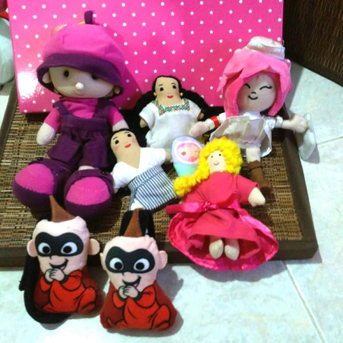 Jual Boneka Orang Orangan Dan The Incredibles Baby Kota Batam
