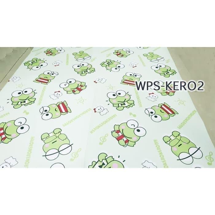 Gambar Keroppi Untuk Wallpaper Wa Jual Wallpaper Dinding Anti Air Motif 45cmx5m Wpskero2 Much Keroppi Kota Tangerang Selatan Pondok Stiker Tokopedia