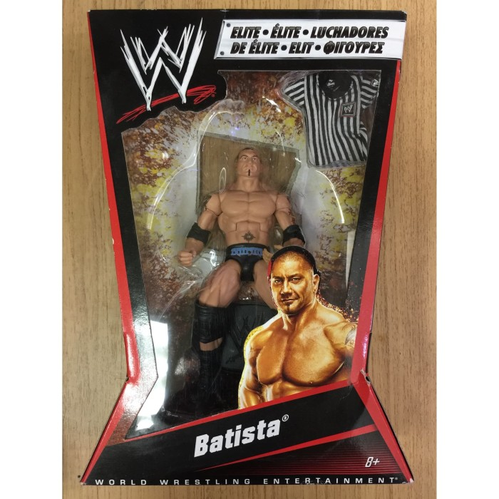 Set of 3 Brown TV Trays for WWE Wrestling Action Figures