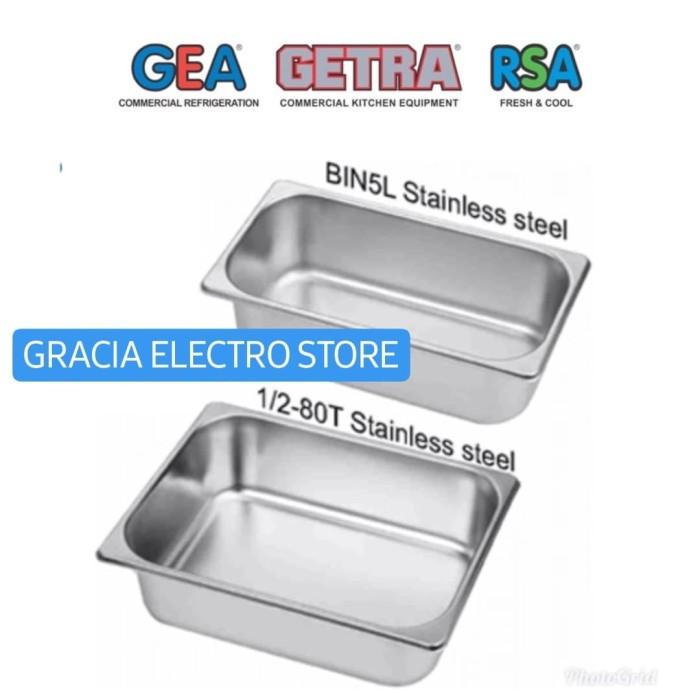 Jual GEA 1/2-80T ICE CREAM BIN STAINLESS WADAH KOTAK ...