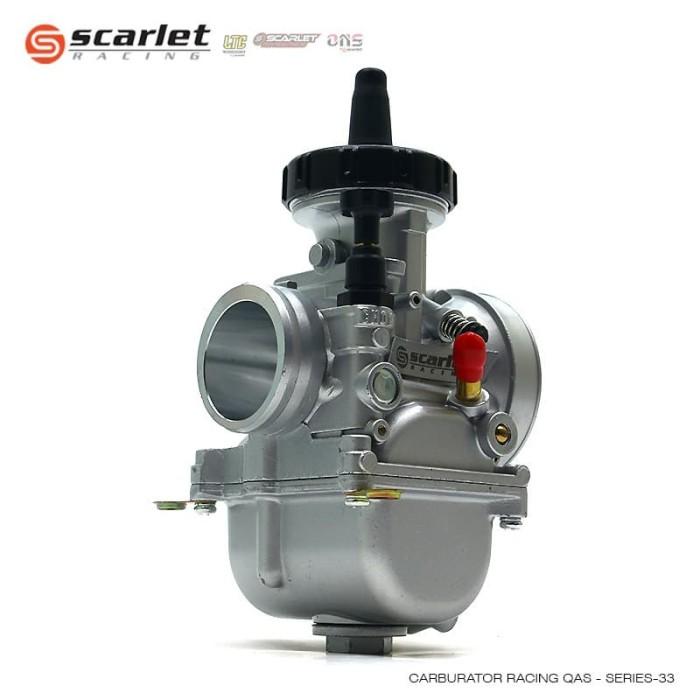 Jual SCARLET RACING karburator carburetor karbu PWK 33 QAS