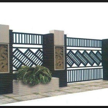 Jual Pintu Pagar Minimalis Motif Terbaru Kota Bekasi