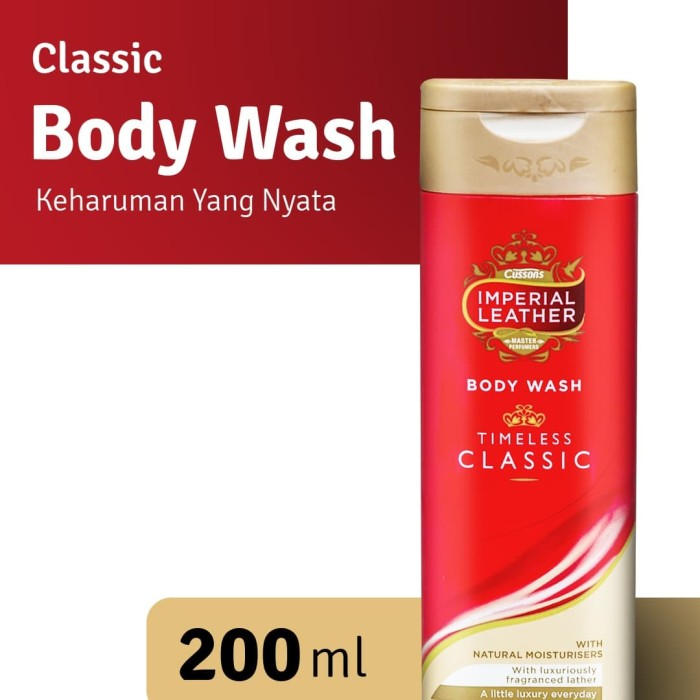 Foto Produk Imperial Leather Body Wash Classic 200ml dari Cussons Official Store