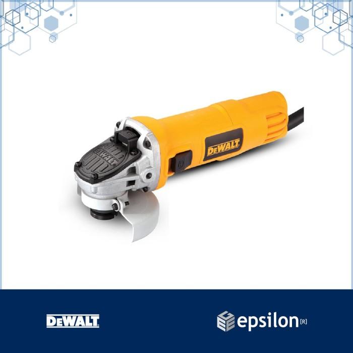 harga Dewalt 100mm 720w sag with slide switch dwe8100s-b1 Tokopedia.com