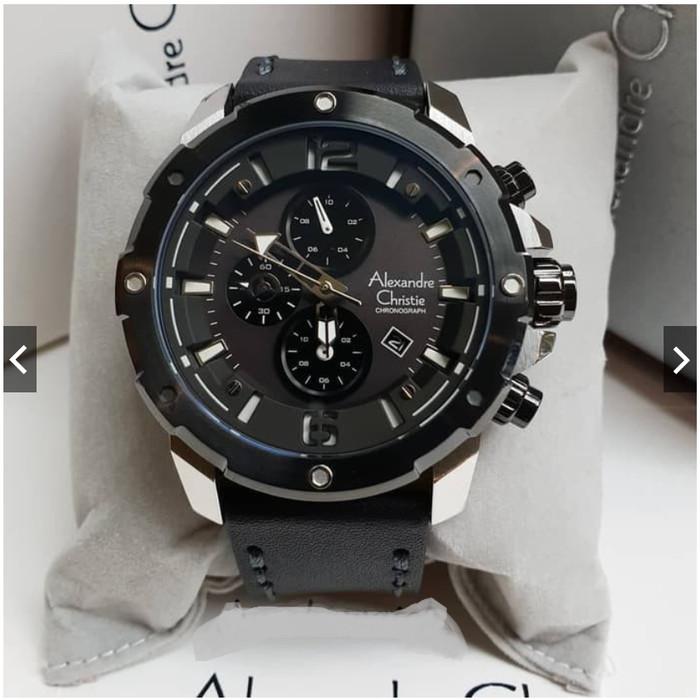 Foto Produk jam tangan pria alexander cristie original ac6410 silver black -p015 dari Pendulum Store