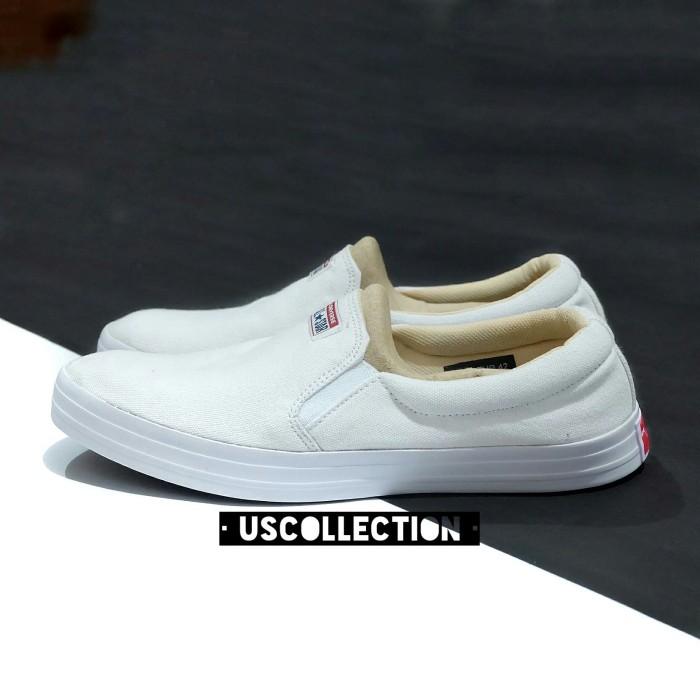 Jual Sepatu Converse All Star Slip On Putih Slip On Pria Kota