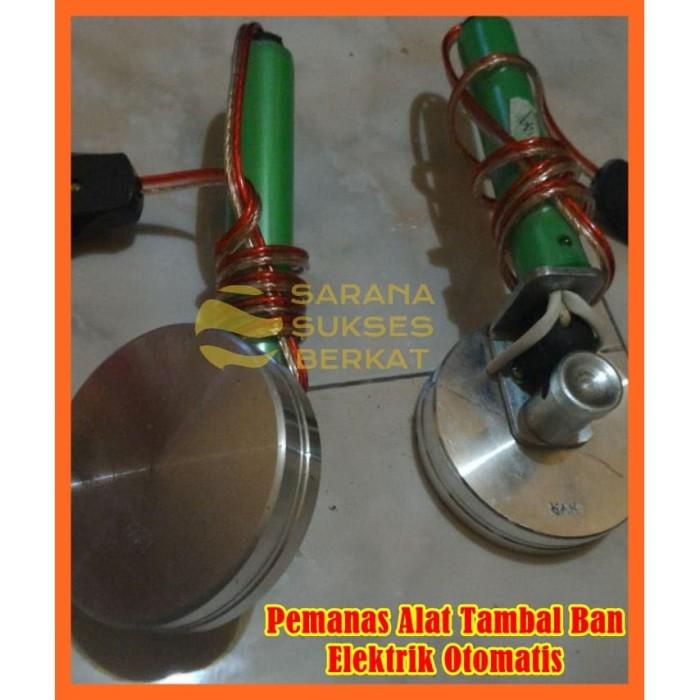 Foto Produk Pemanas Alat Tambal Ban Elektrik Otomatis Diameter 9 cm dari Sarana Sukses Berkat
