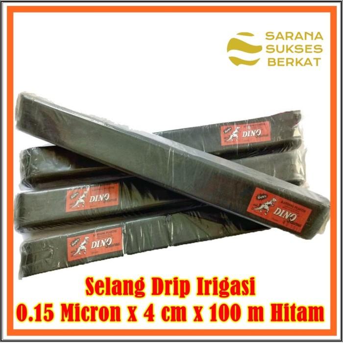 Foto Produk Selang Drip Irigasi 015 Micron x 4 cm x 100 m Hitam dari Sarana Sukses Berkat