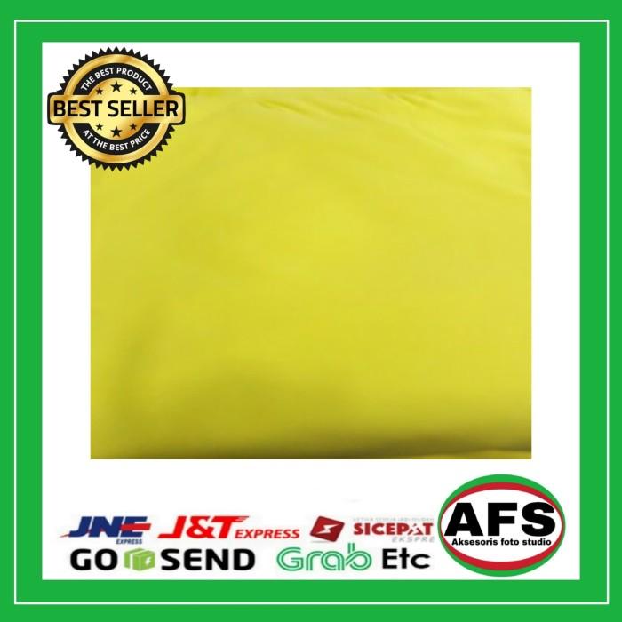 Jual Background Foto Warna Kuning 2 5 X 3 Meter Putih Jakarta