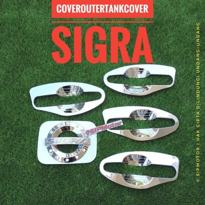 Foto Produk Paket Cover Outer dan Tankcover Bensin Sigra Chrome dari SIPMotor