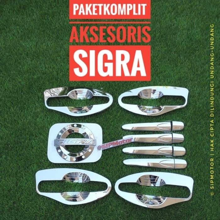 Foto Produk Paket Komplit Sigra Cover Handle Mangkok Outer dan Tankcover Bensin dari SIPMotor