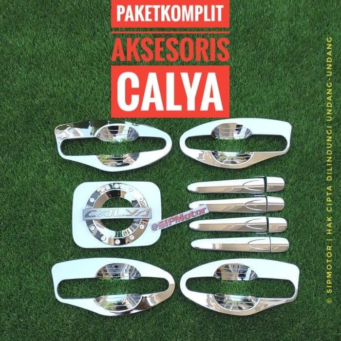 Foto Produk Paket Komplit Calya Cover Handle Mangkok Outer dan Tankcover Bensin dari SIPMotor