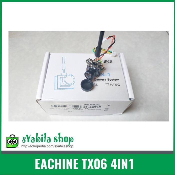 Foto Produk Eachine TX06 700TVL 5.8Ghz 40CH OSD Support Smart Audio AiO FPV Camera dari syabila