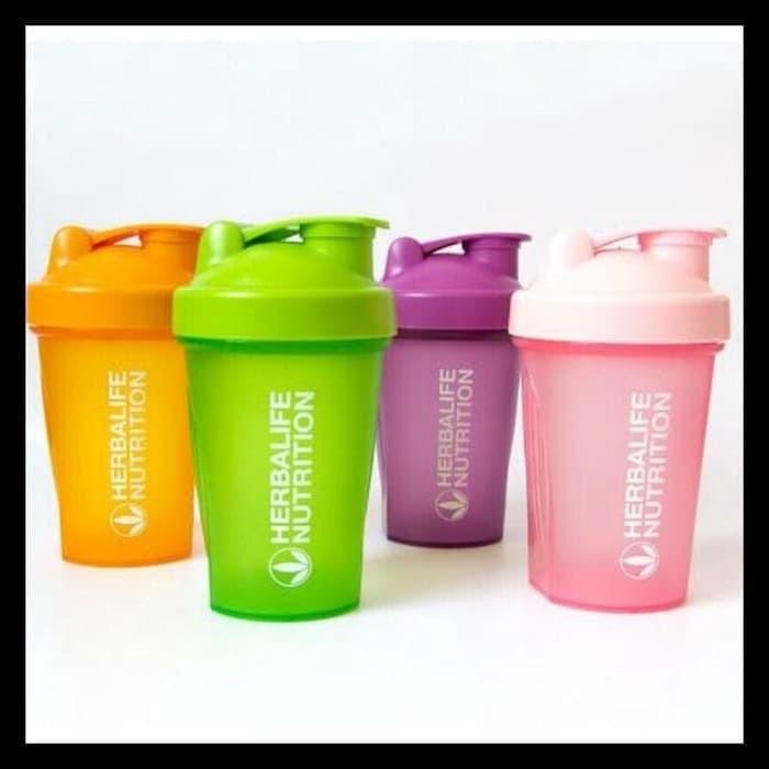 Foto Produk #Herbalife Botol Shaker #Herbalife Bottle Shaker 400 ml H0133-1 - Orange dari Riskashop10