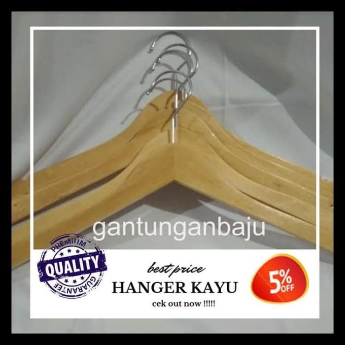 Gambar Kanopi Jendela Dari Kayu  jual hanger kayu exclusif harga terbaik natural kota bekasi kamili store tokopedia