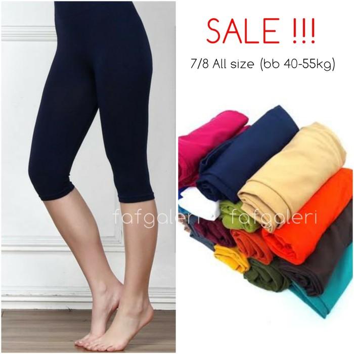 Jual Sale Legging 7 8 All Size Celana Wanita Harga Murah Grosir Putih Kab Bogor Faf Galeri Tokopedia