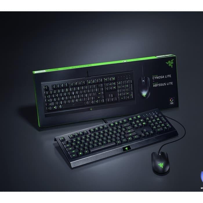 Jual Razer Cynosa Lite Razer Abyssus Lite Keyboard Mouse Gaming Jakarta Selatan Star Seventeen Tokopedia