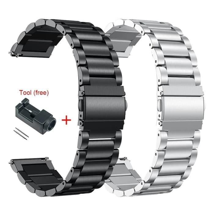 Foto Produk Xiaomi Stainless Steel Amazfit GTR 47 mm Tali Jam Tangan dari Le Krismet Recipe