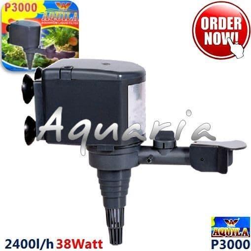 Jual Aquila P-3000 Pompa Air Aquarium Submersible Water ...