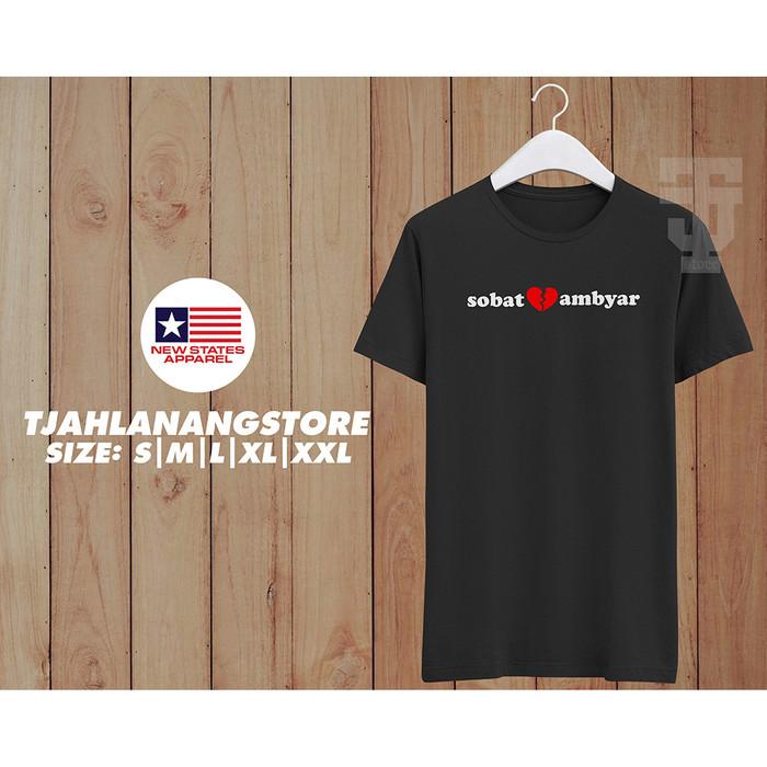 Jual Kaos Sobat Ambyar Hitam Jakarta Timur Tjah Lanang Store