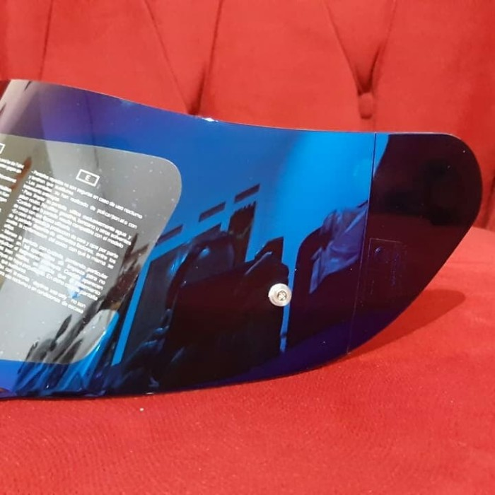 Bisa Cod Visor Agv K3 Sv K1 Dan K5 Pnp Iridium Blue After Market Blue Lazada Indonesia
