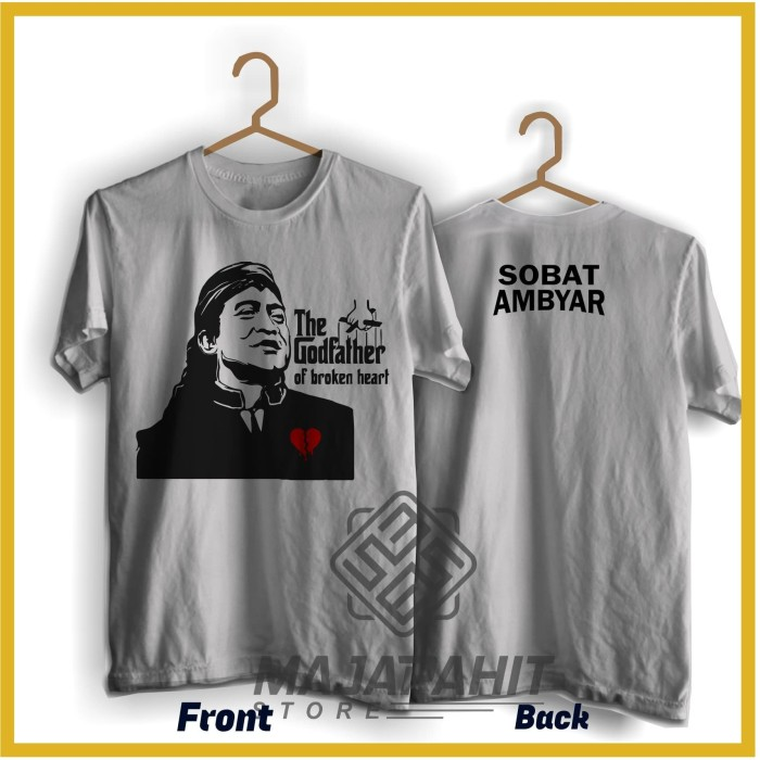 Jual Kaos Didi Kempot The Godfather Of Broken Heart Kaos Sahabat