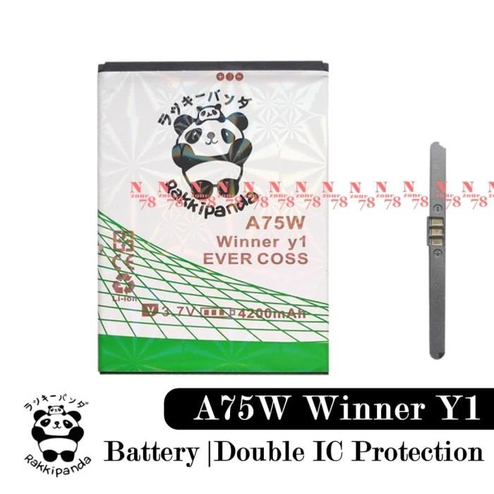 harga Baterai cross evercoss a75w winner y1 double power protection Tokopedia.com