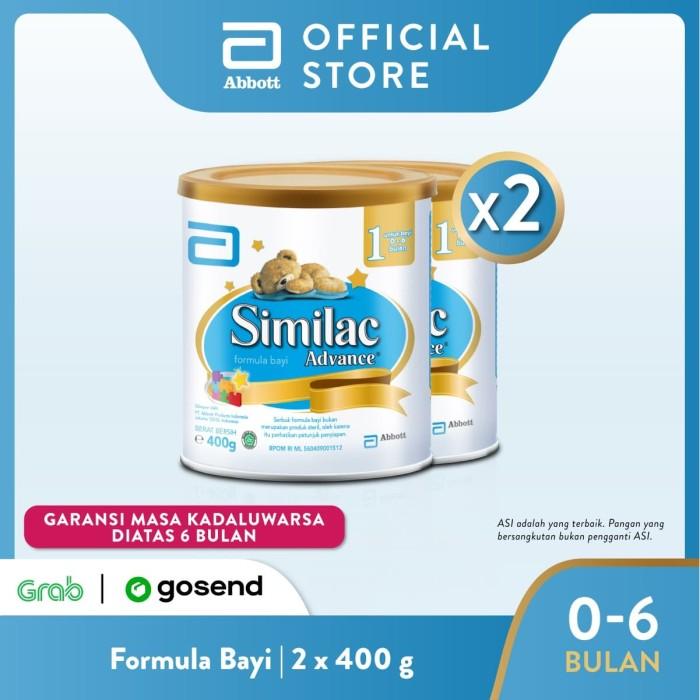Foto Produk Similac Advance 1 400 g (0-6 bulan) Susu Formula Bayi - 2 klg dari Abbott Official Store