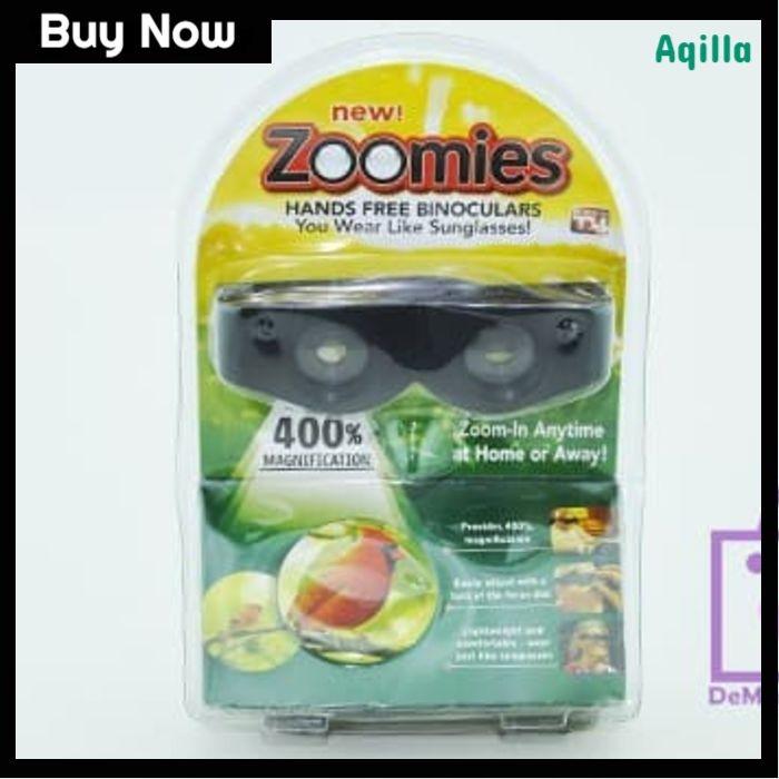 Jual Zoomies Hands Free Binoculars Kacamata Pembesar Jakarta Pusat Alkania Store Tokopedia