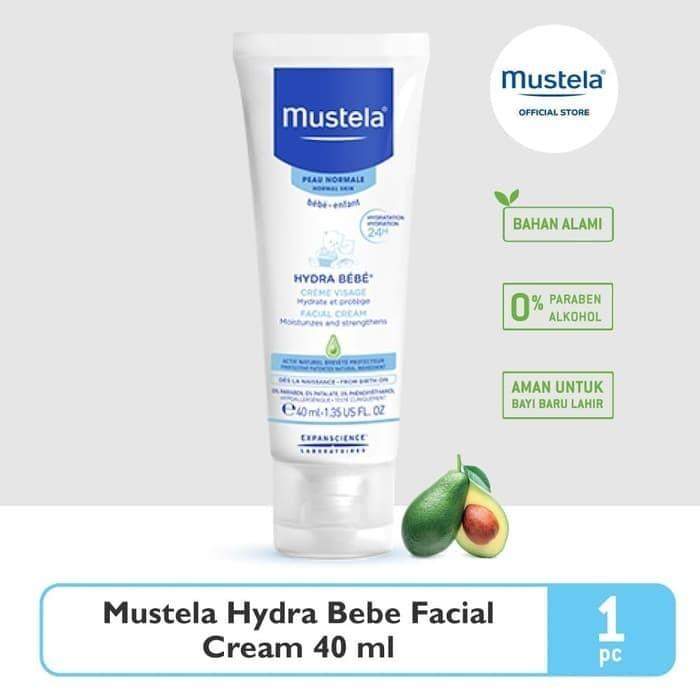 harga Mustela facial cream 40ml Tokopedia.com