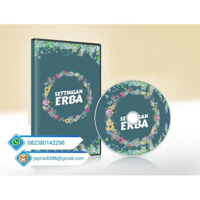 Foto Produk Settingan Undangan ERBA Format CorelDRAW Katalog Terbaru dari togi Print