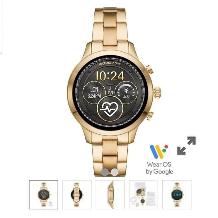 Foto Produk MK Smart watch MKT5045 Gold. Jam Mk Smart watch MKT 5045 Gold dari Laristie
