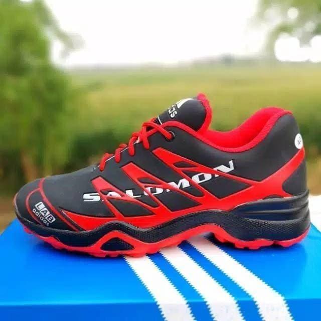 Foto Produk adidas 3D sneakers pria sepatu olahraga - Merah, 39 dari sepatumojokertoID